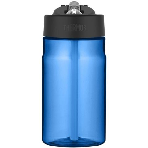 Thermos Blue BPA Free Plastic Hydration Water Cup Bottle 355ml